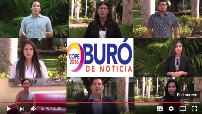Por estudiantes del Buró